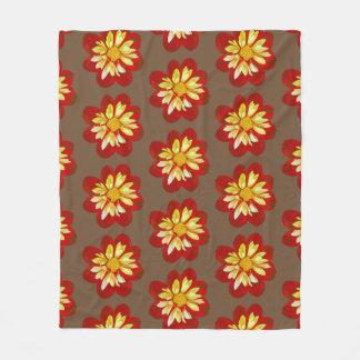 Collerette Dahlia - Fleece Blanket (M)
