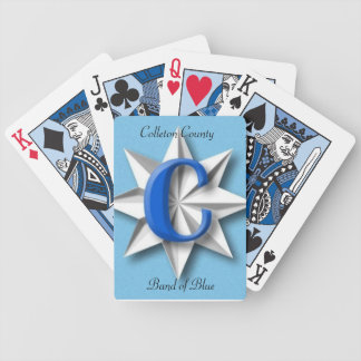 Colleton County Band Of Blue Playing Cards