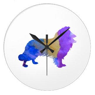 Collie Art Clocks