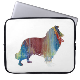 Collie Art Laptop Sleeve