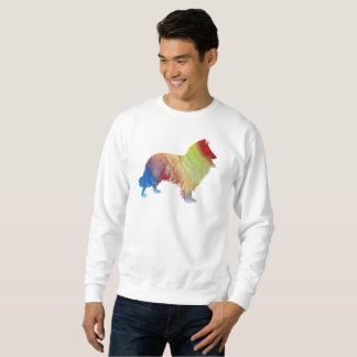 Collie Art Sweatshirt