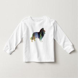 Collie Art Toddler T-Shirt
