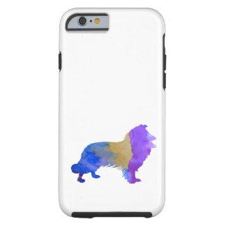Collie Art Tough iPhone 6 Case