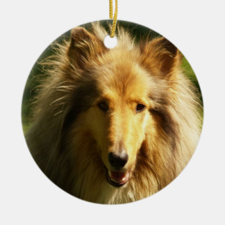 Collie Dog Breed Ornament