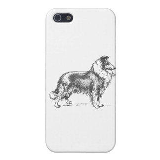 Collie Dog Case For iPhone 5/5S