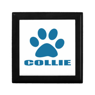 COLLIE DOG DESIGNS GIFT BOX
