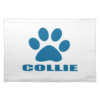 COLLIE DOG DESIGNS PLACEMAT