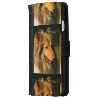 Collie Dog iPhone 6 Wallet Case