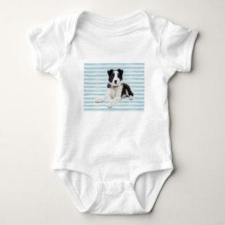 Collie Dog Pup Baby Bodysuit