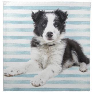 Collie Dog Pup Napkin