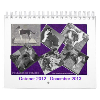 Collie Dogs Show Calendar Oct 2012 - Dec 2013