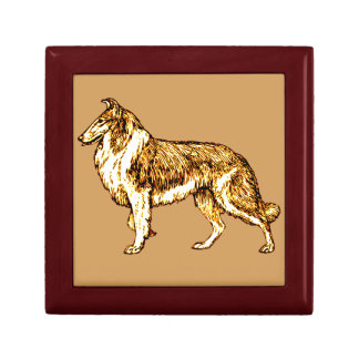 Collie Gift Box