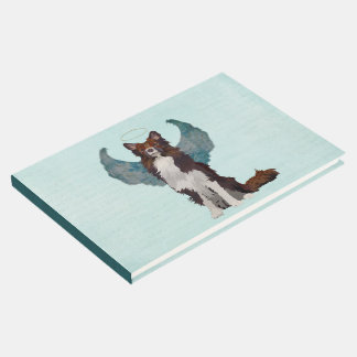 Collie Guardian Angel Guest Book