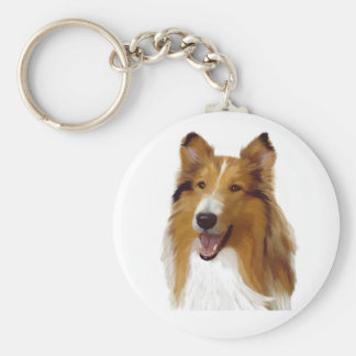 Collie Key Chains