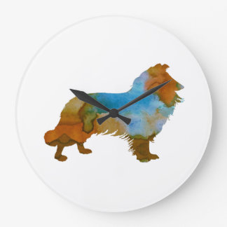 Collie Large Clock