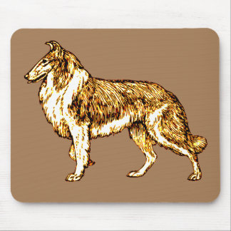 Collie Mouse Pad