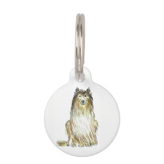 Collie Pet ID Tag