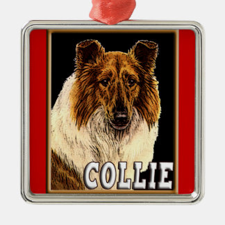 COLLIE PREMIUM CHRISTMAS ORNAMENT