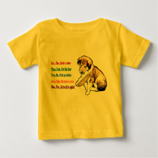 Collie Puppy Gifts Baby T-Shirt