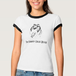 Collie Rescue lady's tee