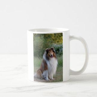 Collie rough dog beautiful photo coffee, tea mug