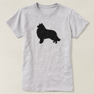 Collie Silhouette T-Shirt