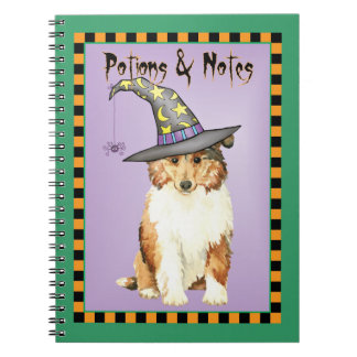 Collie Witch Notebook