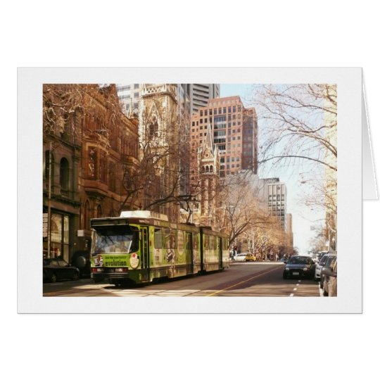 Collins Street Melbourne Card
