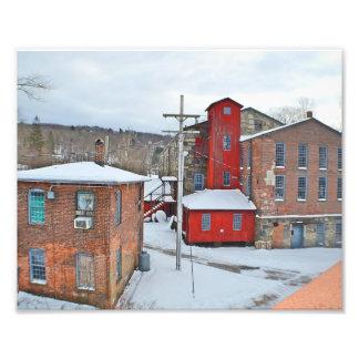 Collinsville Factory Buildings Photo Print