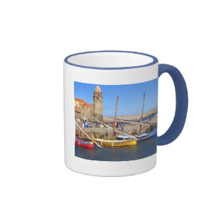 Collioure Harbor Coffee Mugs