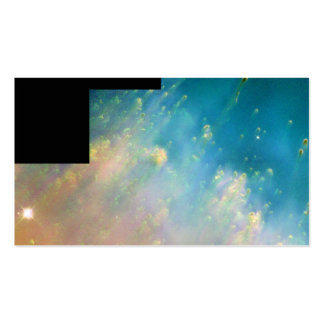 Collision of Gases Near a Dying Star in the Helix Business Cards
