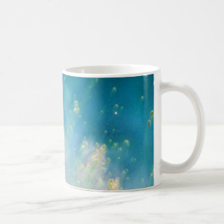 Collision of Gases Near a Dying Star in the Helix Coffee Mugs