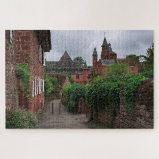 Collonges-la-Rouge, the red village in France Jigsaw Puzzle