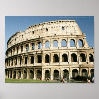 Collosseum, Rome Poster