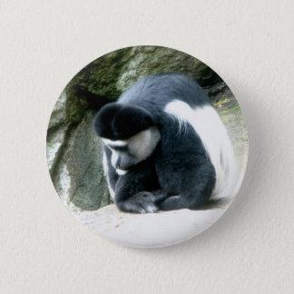 Colobus 6 Cm Round Badge