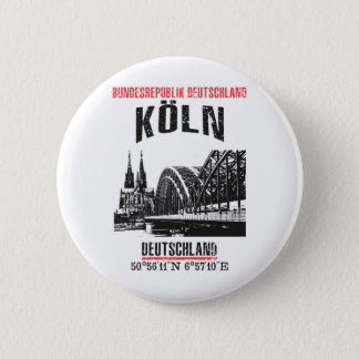 Cologne 6 Cm Round Badge