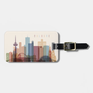 Cologne, Germany | City Skyline Luggage Tag