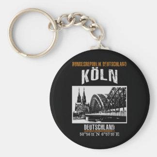 Cologne Key Ring