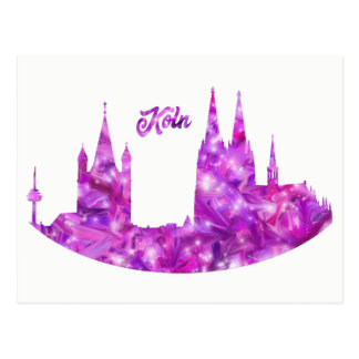 Cologne postcard