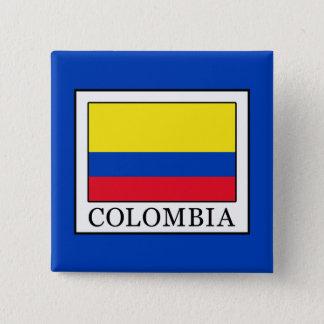 Colombia 15 Cm Square Badge