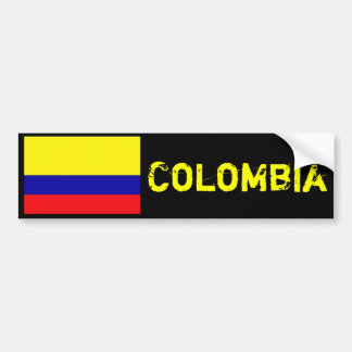 Colombia bumper sticker