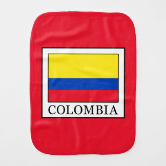 Colombia Burp Cloth