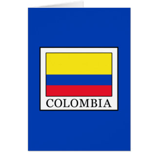Colombia Card