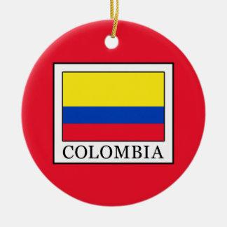 Colombia Ceramic Ornament