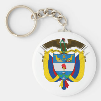 Colombia Coat of Arms Keychain