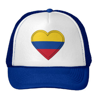 Colombia Colombian Flag Hat