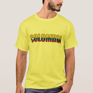 Colombia Colombian Flag T-Shirt