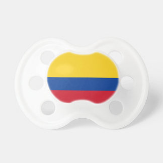 Colombia Flag Booginhead Pacifier