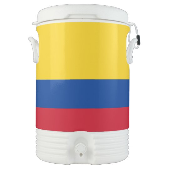 Colombia Flag Drinks Cooler
