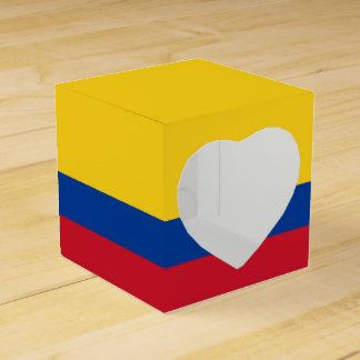 Colombia Flag Favour Box